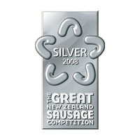 2008 Silver Award Flavoured Category - Beef Flavoured